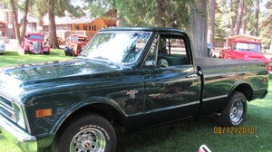 1968 Chevrolet C-10 Short bed custom cab