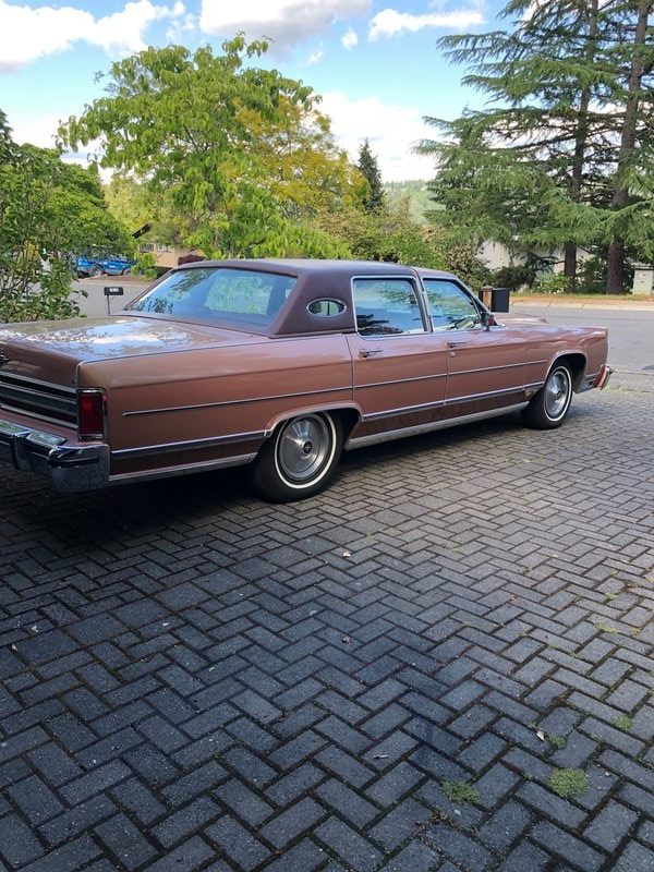 1978 Lincoln Continental Town Car For Sale In Bellevue Washington