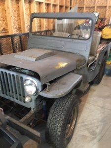 1950 Jeep-Willys CJ-3A