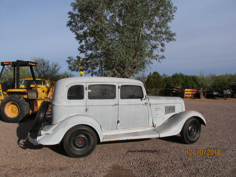 1934 Plymouth ROD PROJECT