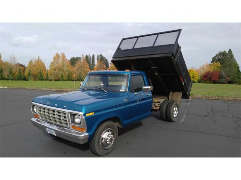 1978 Ford F-350 Dually Dump Truck For Sale in Albany, Oregon   Old