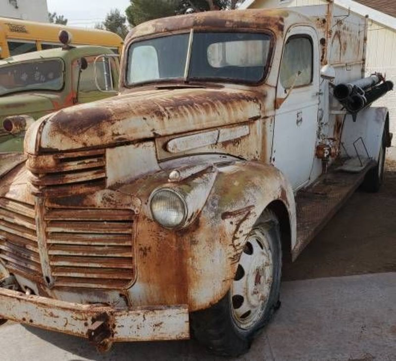 Importing A Car From Canada: 1942 Gmc Fire Truck For Sale In Cadillac, Michigan
