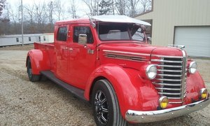1946 Diamond T 201 pickup crew cab