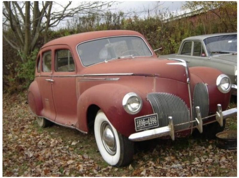 1939 Lincoln Lincoln zephyr