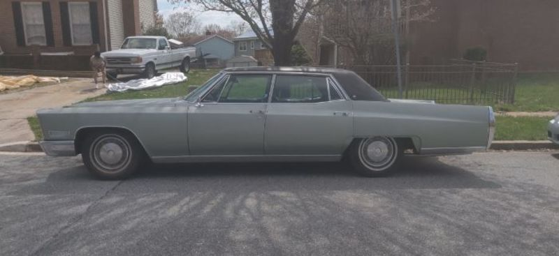 Cadillac Fleetwood For Sale >> 1967 Cadillac Fleetwood For Sale In Cadillac Michigan Old Car Online