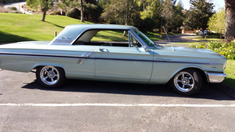 1964 Ford fairlane 500 SPORT coupe For Sale in Fallbrook, California