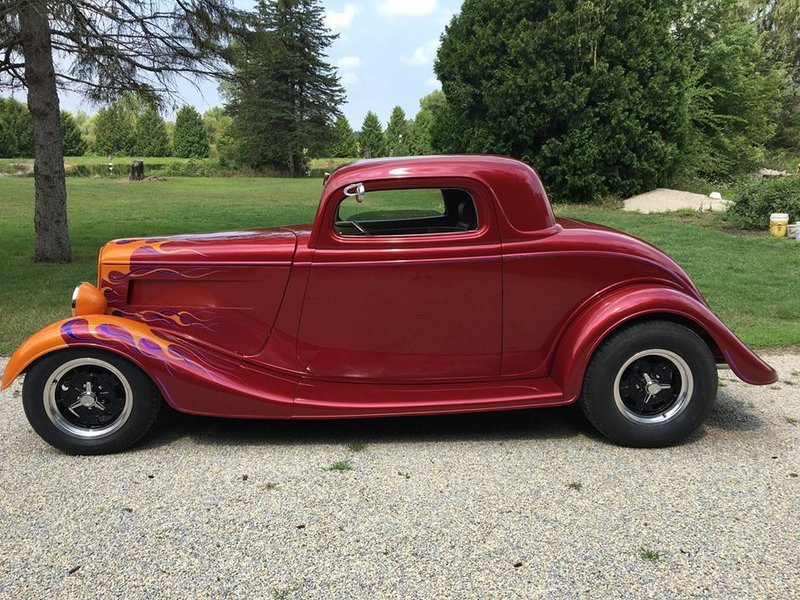 1933 Ford 3-Window Coup