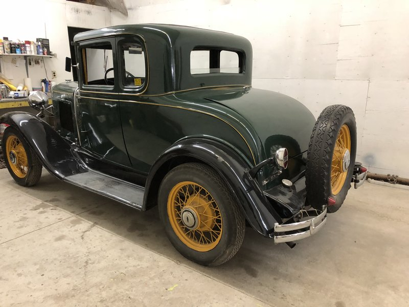 1931 Chevrolet Window Coupe w/Rumble seat
