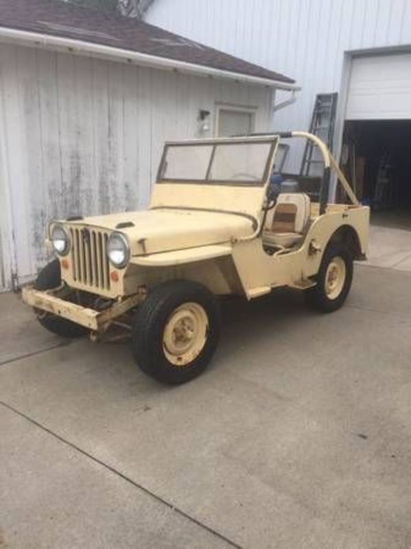 1946 Jeep Cj2a For Sale In Cadillac Michigan Old Car Online