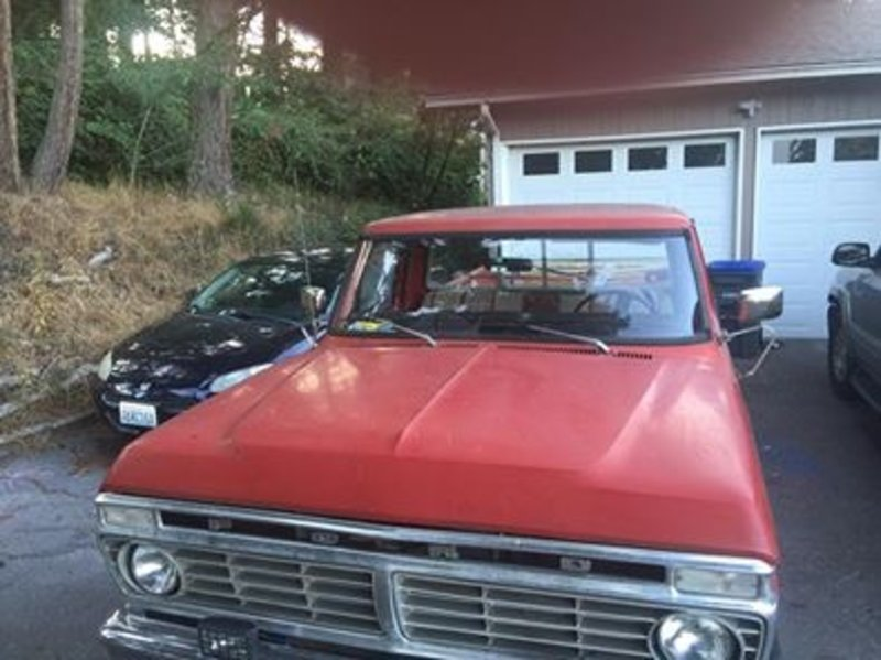 1973 Ford F-250 For Sale in Bremerton, Washington | Old Car