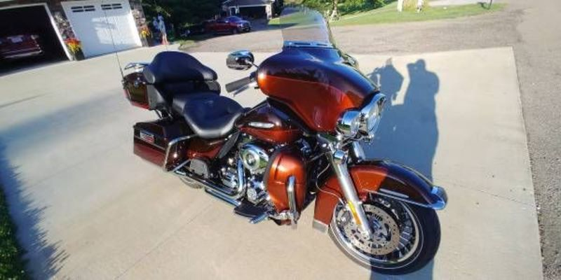 2011 Harley Davidson Ultra Limited For Sale in Cadillac ...