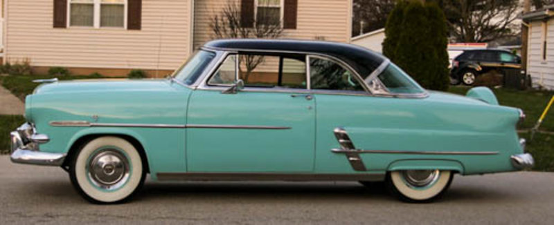 1953 Ford Crestline Crown Victoria