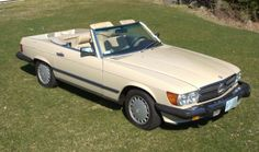 1986 Mercedes Benz 500SL